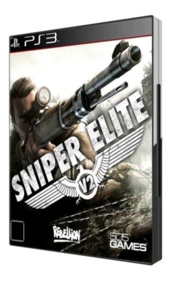Sniper Elite V2 Ps3 Midia Física Novo Lacrado