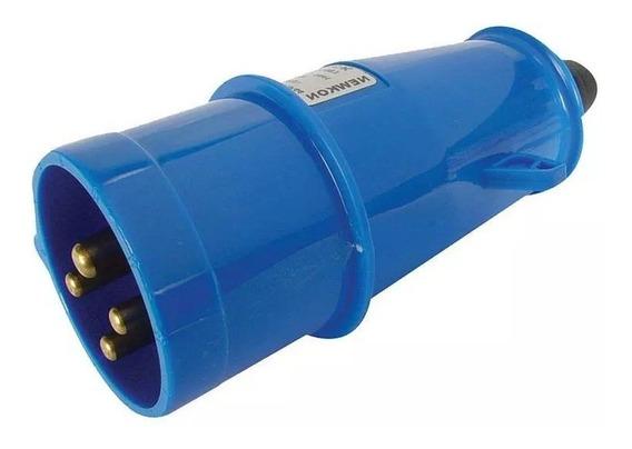 Plug Azul 3p+t 32a 200/250v N4279 Steck
