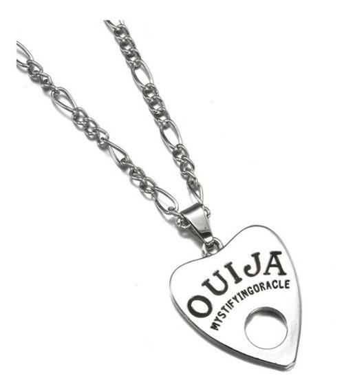 Colar Tabuleiro Tabua Ouija