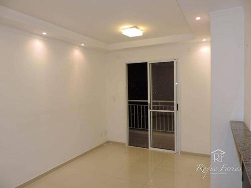 Imagem 1 de 26 de Apartamento Com 2 Dormitórios À Venda, 62 M² Por R$ 460.000,00 - Jaguaré - São Paulo/sp - Ap5057