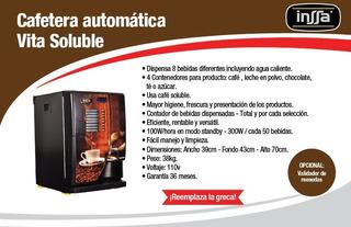 Máquina De Café Soluble Vending
