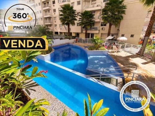 Apartamento Com 2 Quartos À Venda, 50 M² Por R$ 299.000 - Maracanã - Rio De Janeiro/rj - Ap0188