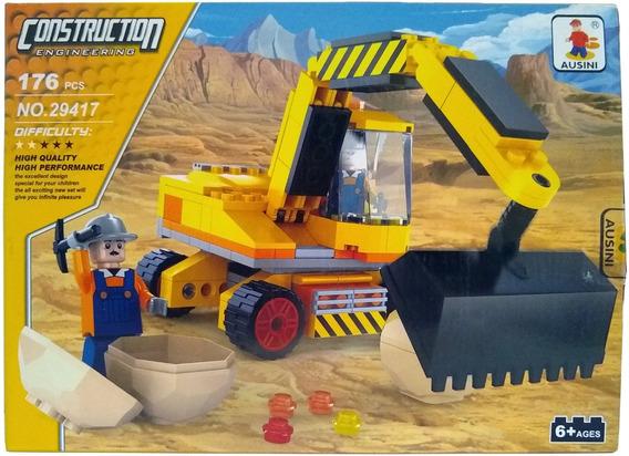 Lego Trator Escavadeira 176+peças Lego Creator Construção