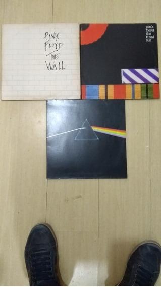 Raridades 3 Lps Pink Floyd Coleção