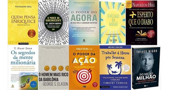 O Poder Do Subconsciente + Quem Pensa Enriquece + 8 Livros