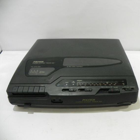 3x1 Polyvox Trivox 300 Rádio Vinil Tape - Usado Com Defeito