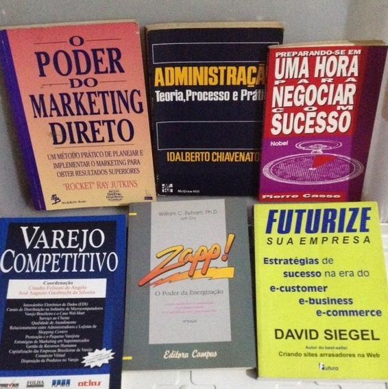 Livro Marketing Administração Pacote 27 Livros