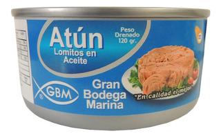 10 Latas Lomo Atun Agua O Aceite G - Unidad a $3899