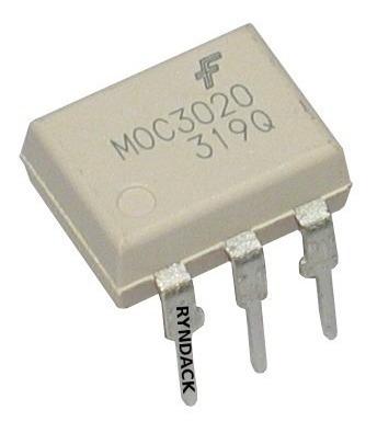 5 Peças * Moc3020 Optoacoplador