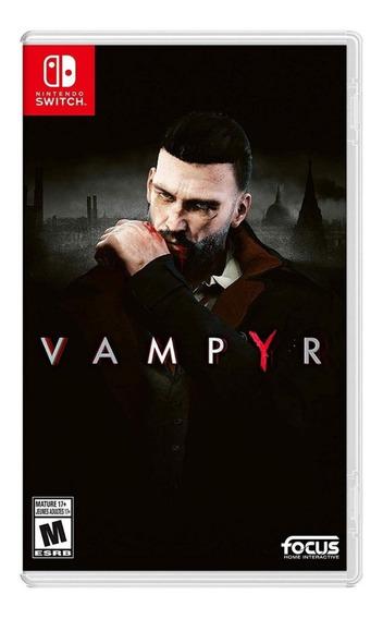 Vampyr - Mídia Física - Switch - Novo