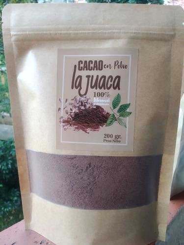 Imagen 1 de 1 de Cacao En Polvo Bolsa Por 200 Gramos