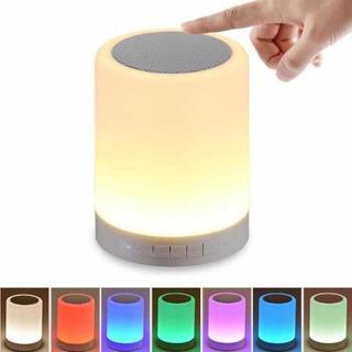 Parlantes Inalámbricos Bluetooth Luz Led