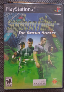 Syphon Filter The Omega Strain Playstation 2 Ps2