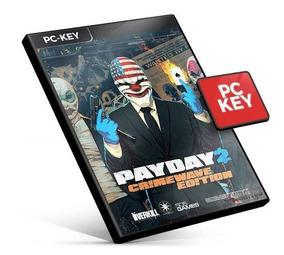 Payday 2 Pc Steam Key Jogo Código Original Buy Envio Já