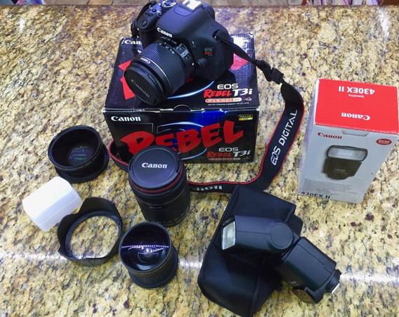 Vendo Equipamento Fotográfico Canon Junto Ou Separadamente