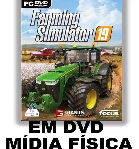 Farming Simulator 2019 - Dvd Rom Pc E Not