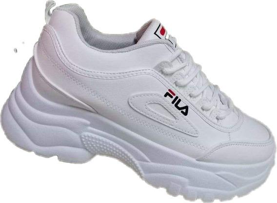 Zapatillas Fila Blancas