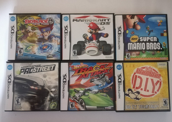Caja De Juego Para Nintendo Ds Portada Original Precio C/u