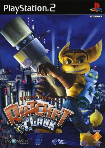 Ps2 - Ratchet & Clank Original (japan) - Sensacional