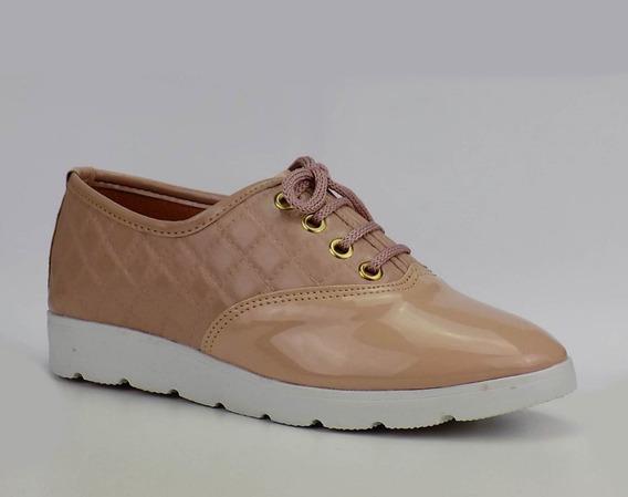 3 Sapatos Oxford Matelassê 12 X Sem Juros E Frete Grátis!
