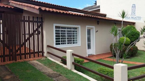 Casa Residencial À Venda, Mansões Santo Antônio, Campinas - Ca1461. - Ca1461