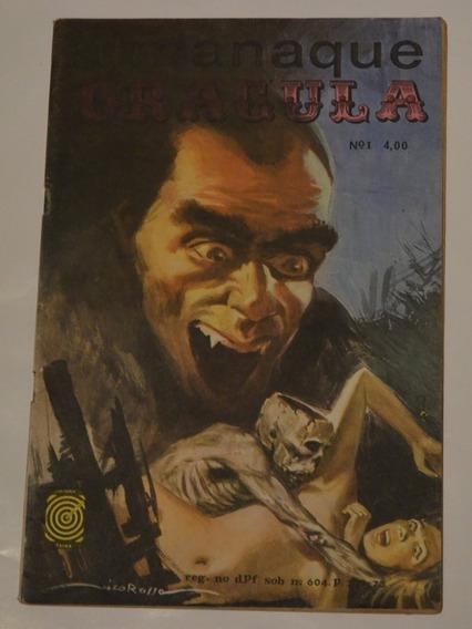 Hq Almanaque Dracula 1 Taika Otimo Estado Terror Vampiro