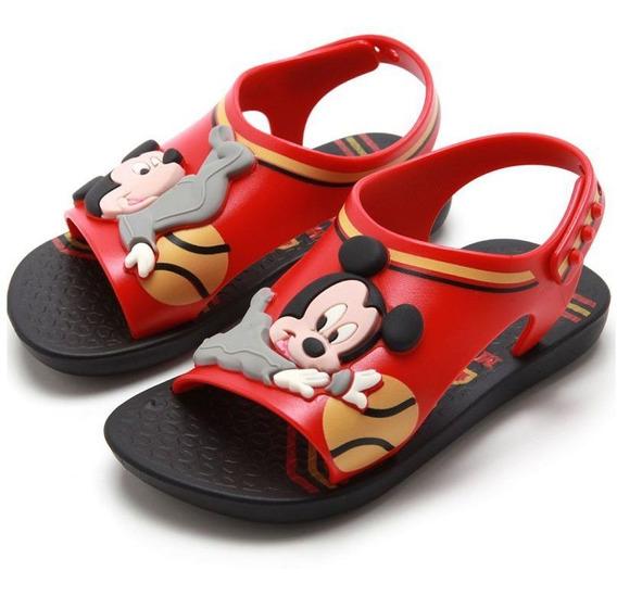 Sandália Papete Infantil Ipanema Love Disney Mickey