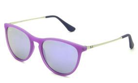 86b4e96146 Óculos Ray Ban Junior Rb9060s 7008/4v 50 Erika - Lente 50mm