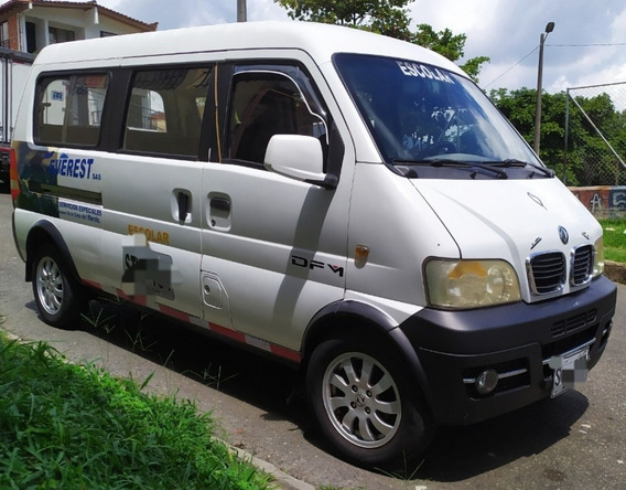 Van 9 Pasajeros Dfm Modelo 2012
