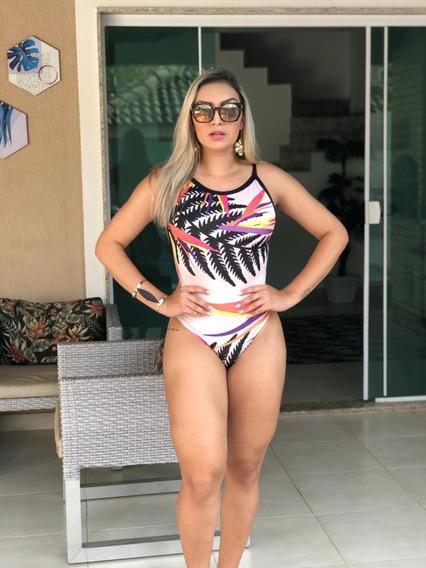 Body Maiô Feminino Blusa Cavado Fio Dental Sem Bojo Ref 98b Bmgs