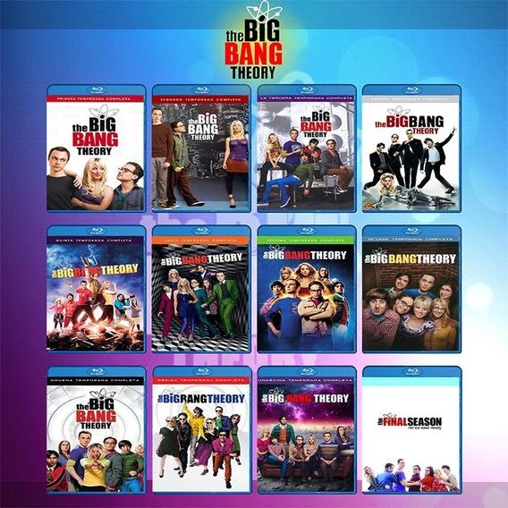 La Teoria Del Big Bang Theory Serie Completa 1-12 Bluray Hd