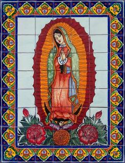 Mural De Talavera - Virgen De Guadalupe
