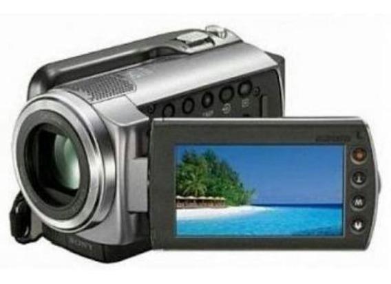 Filmadora Sony Dcr-sr47 Hd 60gb Zoom Óptico 60x Tela 2.7