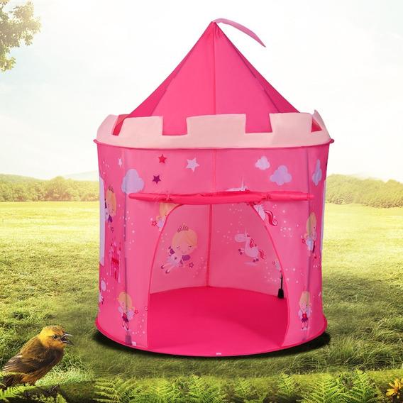 Barraca Infantil Cabana Boneca Princesas Castelo