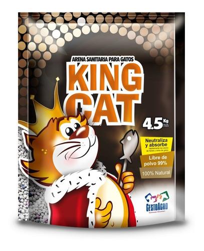 Arena Sanitaria Kingcat - 4,5 Kg