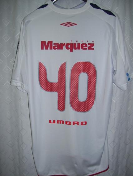 Independiente Umbro G.marquez 2007 #40 Match Worn Enzo Bruno