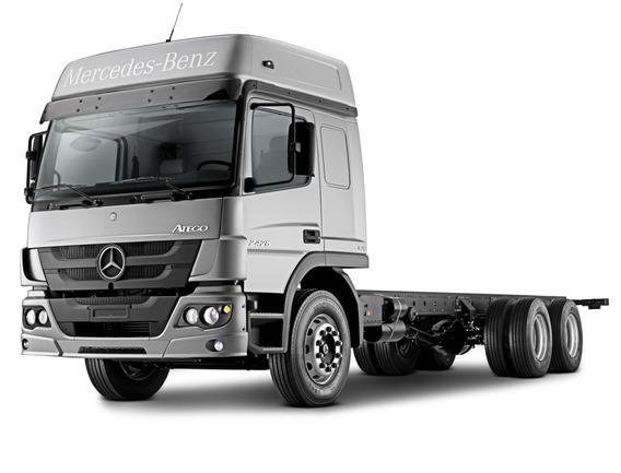 Caminhão Mercedes Bens Atego 2426 Ano 2020