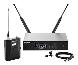 Sistema Inalámbrico Digital Shure Qlx-d Con Banda Lavalier