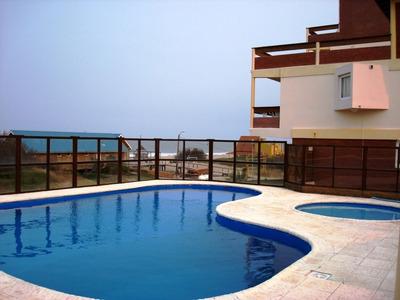 Villa Gesell Norte Frente Al Mar -- 3 Ambientes - 6 Personas
