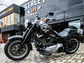 Fat Boy - Preta 2015 - Harley - Davidson