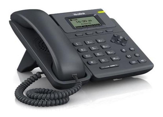 Telefone Voip Yealink T19 E2 Com Fonte C/ Nfe+suporte Tec.