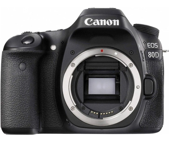 Câmera Canon Eos 80d Corpo Dslr 24mp Wi-fi Supernova