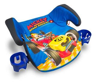 Booster Auto Sin Respaldo Con 2 Portavasos 15 A 36 Kg Disney
