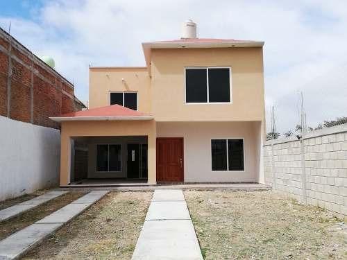 Estrena Espaciosa Casa En Plan De Ayala Norte, Cerca De Boulevard Belisario Domínguez Y Libramiento Norte