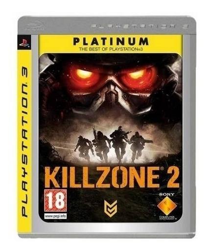 Killzone 2 Ps3 Seminovo Original Mídia Física