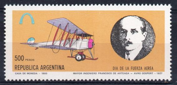 Argentina 1980 Gj 1933** Me 1241 Mint Ing Mayor De Arteaga A