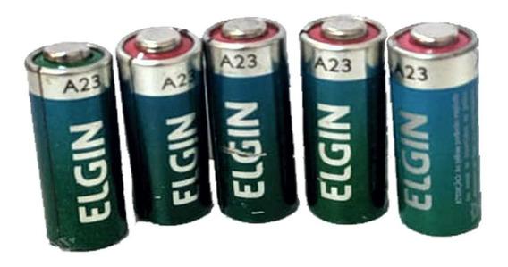 Bateria 12v A23 Elgin P/sensor Magnético E Controles Portão