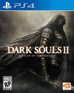 Dark Souls 2 - Ps4 - Mídia Física - Novo
