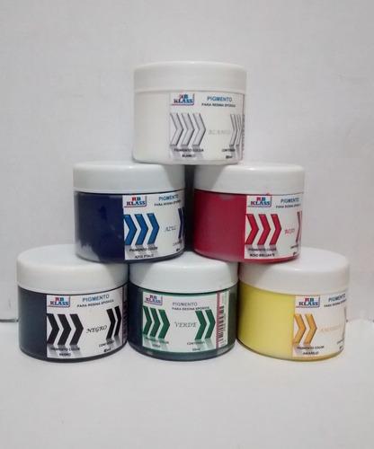 Pigmentos Para Resina Epoxica Kit De 8 Colores