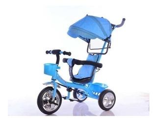 Triciclo Infantil Tzt45 Manija Direccional Capota Babymovil